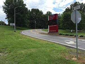 Germanna Community College - Locust Grove campus entrance
