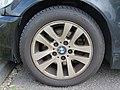 2017-09-07 (125) Dunlop Winter Sport 5 205-55 R 16 91 H tires at Park and Ride Bahnhof Ybbs an der Donau.jpg