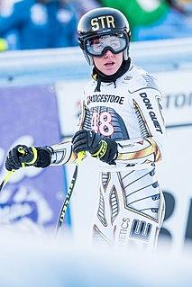 Ester Ledecká Czech snowboarder and alpine skier