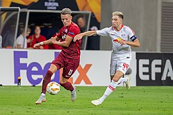 20180920 Fussball, UEFA Europa League, RB Leipzig - FC Salzburg by Stepro StP 8044.jpg