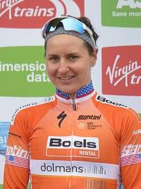 2018 Women's Tour de Yorkshire - Megan Guarnier (stage).jpg