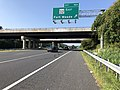 2019-08-07 09 10 55 View south along U.S. Route 29 (Columbia Pike) at Exit 16A (Maryland State Route 32 EAST, Fort Meade) in Columbia, Howard County, Maryland.jpg