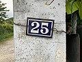 25, rue des Andrés, numéro de rue à Saint-Maurice-de-Beynost (Ain, France).jpg