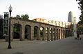 25 Parc del Clot, mur de l'antic taller de la Renfe.jpg