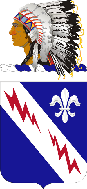 279th Infantry Regiment (United States) - Coat of arms