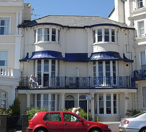 Central Methodist Church, Eastbourne - 27 and 28 Marine Parade now occupy the site of Eastbourne's first Methodist place of worship, which pre-dated Central Methodist Church by 104 years.