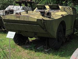2P111 tank destroyer at the Muzeum Polskiej Techniki Wojskowej in Warsaw (3).jpg