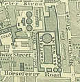 2 Marsham Street, London - Stanford Map of London, 1862.jpg
