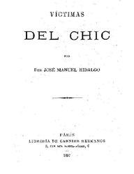 José Manuel Hidalgo y Esnaurrízar: Víctimas del Chic