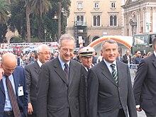 Walter Veltroni con Piero Marrazzo