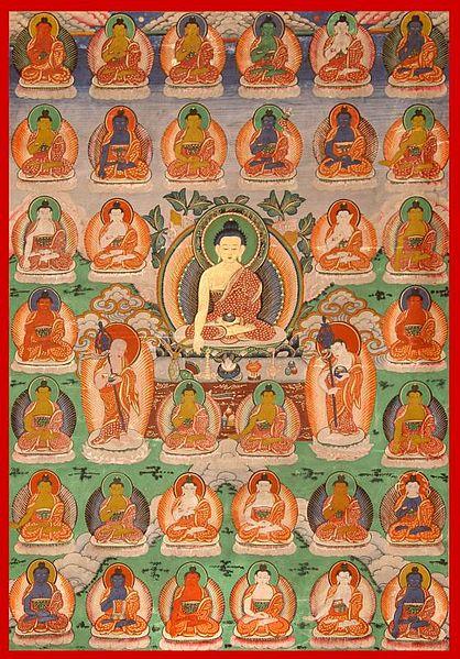 Sidarta Gautama - Buda - Page 2 418px-35buddhas