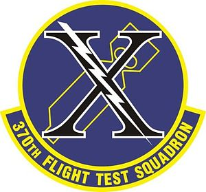 370th Flight Test Squadron - Image: 370 FTS