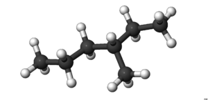 3-Methylhexane - Image: 3Methylhexane