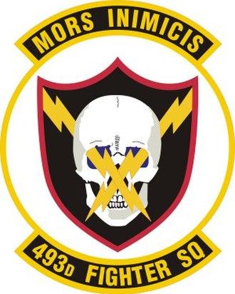 493d Fighter Squadron - 493d Fighter Squadron Patch