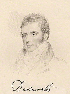 William Legge, 4th Earl of Dartmouth British politician