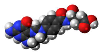 5,10-Methenyltetrahydrofolate - Image: 5,10 Methenyltetrahydrofo late cation 3D spacefill