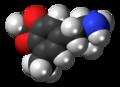 5-Methyl-MDA molecule spacefill.png