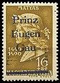 500th birthday of Mathias Hunyadi Corvinus, 16f, 1940, with overprint Prinz-Eugen-Gau.jpg