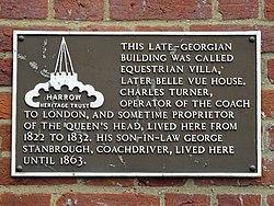 64 high street pinner plaque 2 equestrian villa