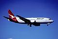 67cc - Qantas Boeing 737-376; VH-TAG@SYD;15.08.1999 (5362884707).jpg