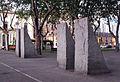 69 Quatre falques, d'Ulrich Rückriem, pla de Palau.jpg