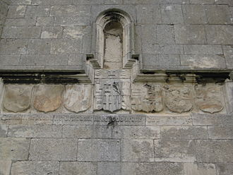 Aughton, East Riding of Yorkshire - Church tower, 6 quarterlings, 2008