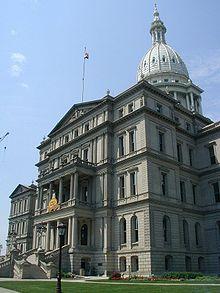 Michigan state capitol wikipedia michigan state capitol malvernweather Images