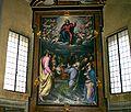 7370 - Milano - S. Maria della Passione - Simone Peterzano - Assunzione della Vergine (1580) - Foto Giovanni Dall'Orto, 26-Feb-2008.jpg