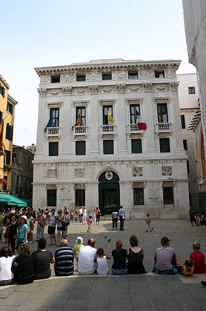 7683 - Venezia - Lorenzo Santi - Palazzo patriarcale (1837-1870) - Foto Giovanni Dall'Orto, 8-Aug-2007