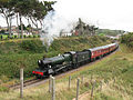 7802 Bradley Manor on curve at Watchet on West Somerset Railway (5950760935).jpg