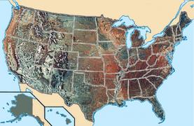 800x520 USA MAP TOPO