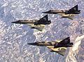 82d Fighter-Interceptor Squadron F-102s over South Korea 1970.jpg