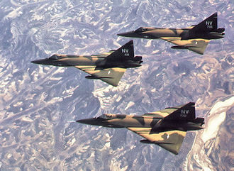 82d Aerial Targets Squadron - 82d Fighter-Interceptor Squadron F-102s over South Korea 1970 on rotation from Naha AB, Okinawa
