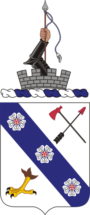 8th Infantry Regiment (United States) - Coat of arms