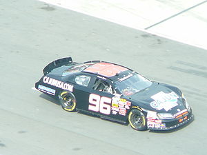 Keselowski Motorsports - The number 96 car at Bristol Motor Speedway in 2009