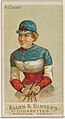 A.J. Cassatt, from the Racing Colors of the World series (N22a) for Allen & Ginter Cigarettes MET DP835153.jpg