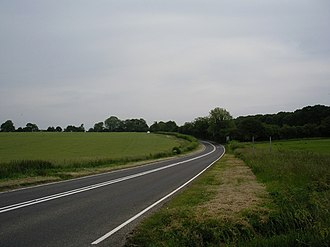A272 road - Image: A272, Petersfield Road geograph.org.uk 188977