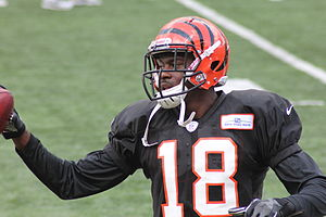 2011 Cincinnati Bengals season - AJ Green, the Bengals' first overall selection in the 2011 NFL Draft