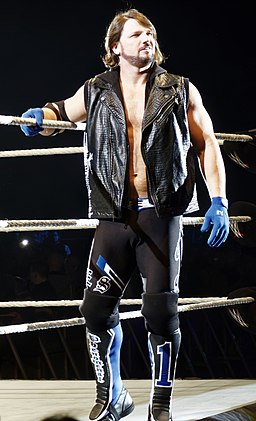 AJ Styles in April 2016