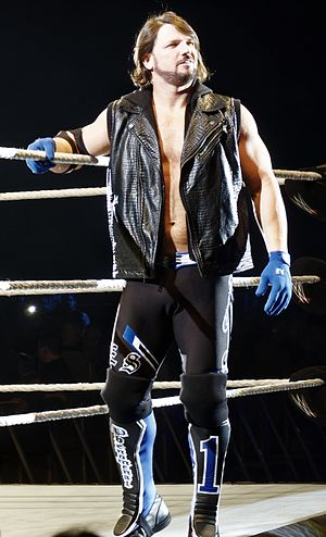 A.J. Styles - Styles in April 2016