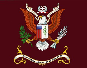 United States Army Medical Department Center and School - Image: AMEDD Regimental Flag