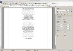 Apache OpenOffice Writer 4.0.0