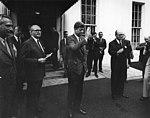AR6792-J. President John F. Kennedy Meets with Manuel Prado Ugarteche, President of Peru.jpg