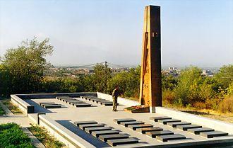 Armenian Secret Army for the Liberation of Armenia - The ASALA memorial in the military cemetery of Yerablur, Yerevan