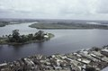 ASC Leiden - F. van der Kraaij Collection - 05 - 021 - Providence Island in the Mesurado river - Monrovia, Mamba Point, Montserrado, Liberia, 1975.tif