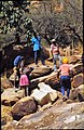ASC Leiden - W.E.A. van Beek Collection - Dogon architecture 02 - The rock is split into manageable stones, Tireli, Mali 1981.jpg