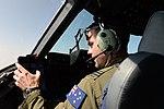 A No. 36 Squadron RAAF pilot flying a C-17 Globemaster III.jpg