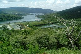 A Portion of the course of the Volta Lake AKOSOMBO, GHANA. 4.jpg