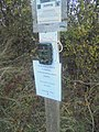 A camera fixed upon a finger post, Harland Way between Wetherby and Spofforth (3rd November 2018).jpg
