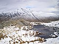 A lochan on the ridge, with Gairich behind - geograph.org.uk - 1238031.jpg